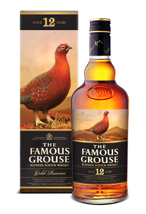 The Famous Grouse 12 Y/O Reserva de Ouro