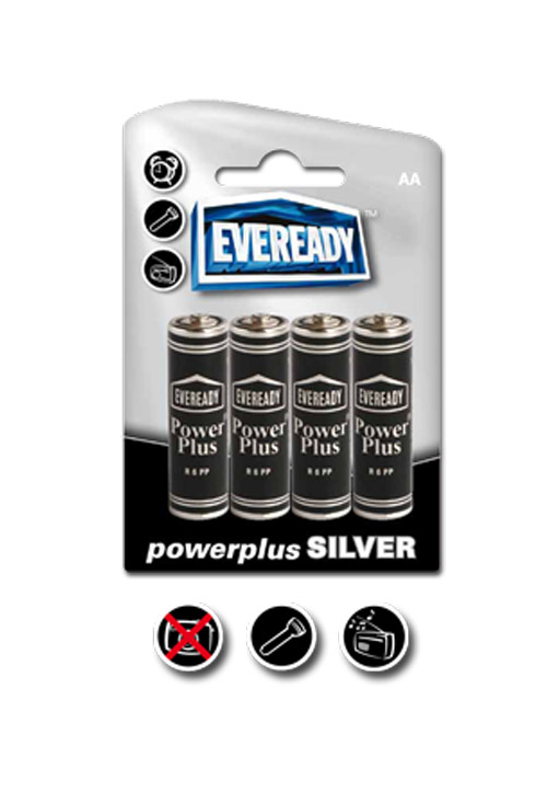 Eveready Powerplus Silver